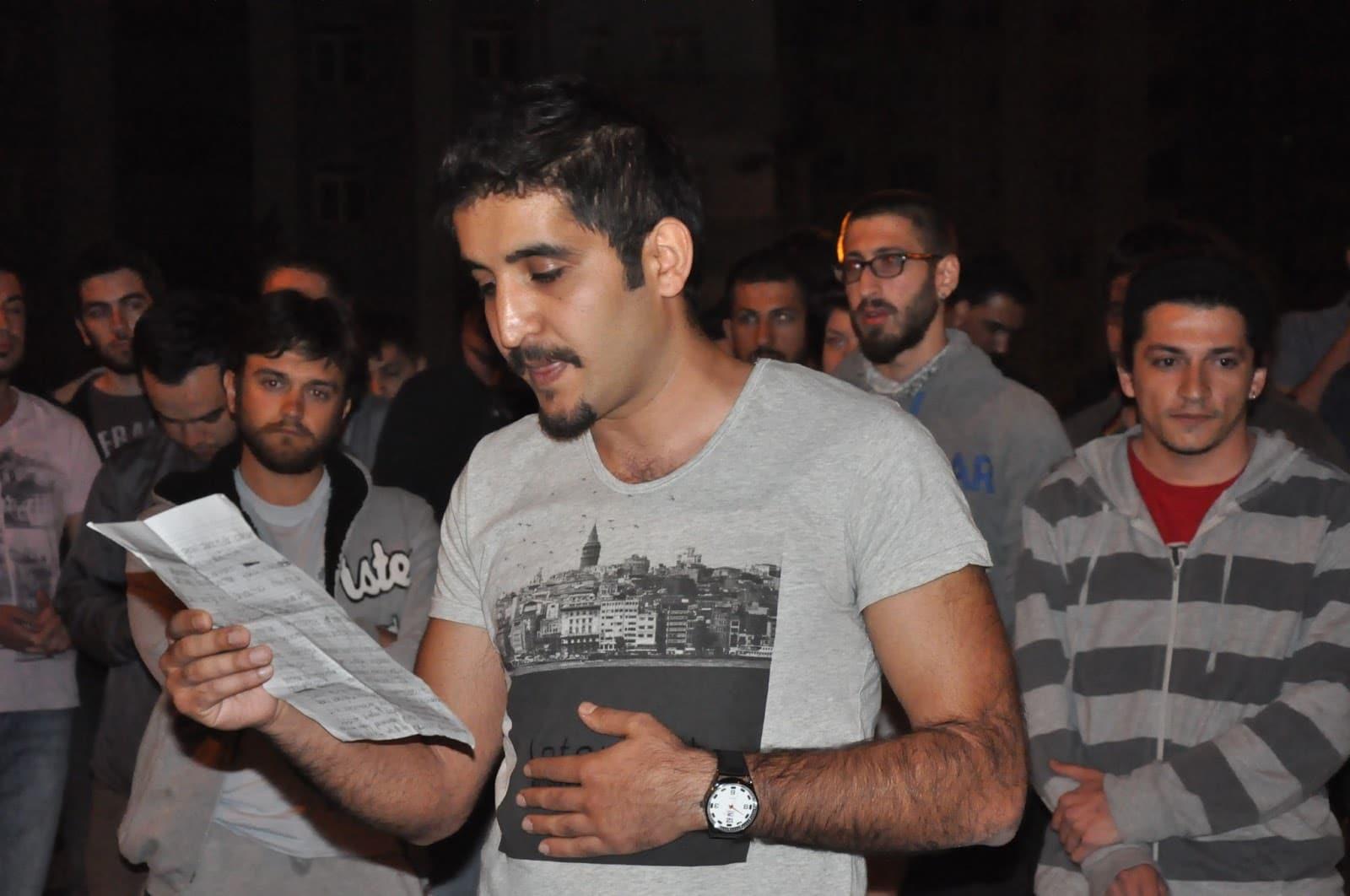Umuth Turk comunicato stampa Gezi Park