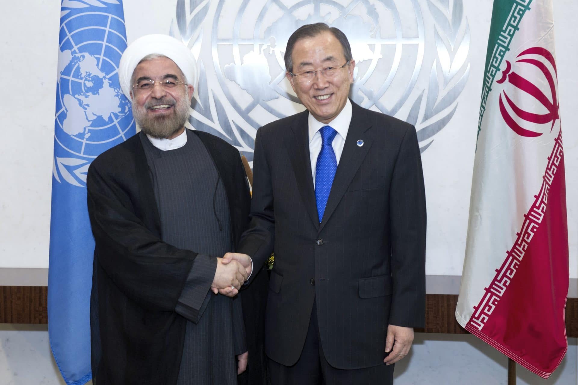 Secretary-General Meets  President of the Islamic Republic of Iran