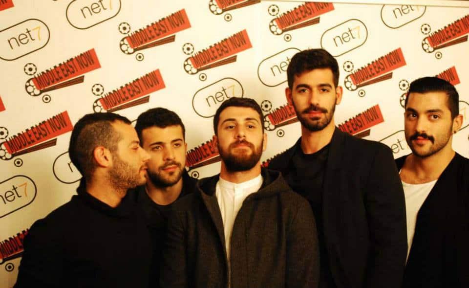 Il gruppo al festival Middle East Now, (foto di Stella Grotti)