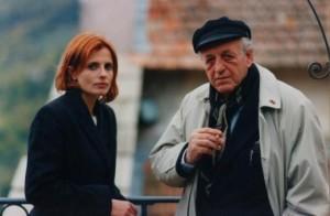 """Biamonti e Isabella Ferrari Ferrari, interprete del film """"Mare largo"""" (1998)"""