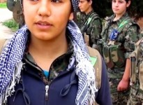 Kurdish women fighters 2