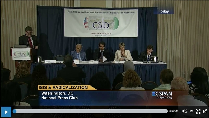 Video Isis panel