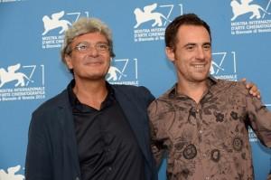Mario Martone (a sinistra) con Elio Germano