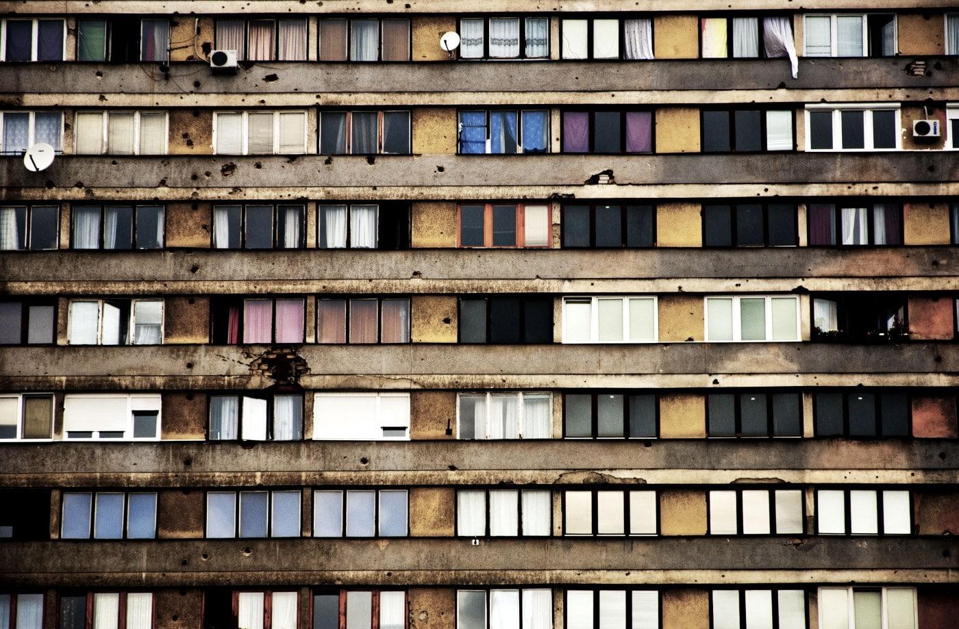Sarajevo facciata