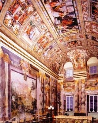 sala-zuccari palazzo giustiniani