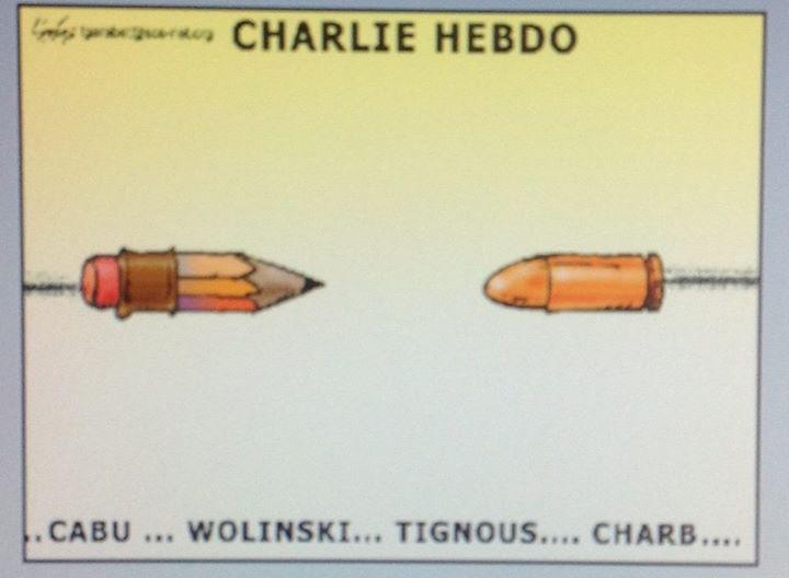 Fares Gabaret Charlie Hebdo