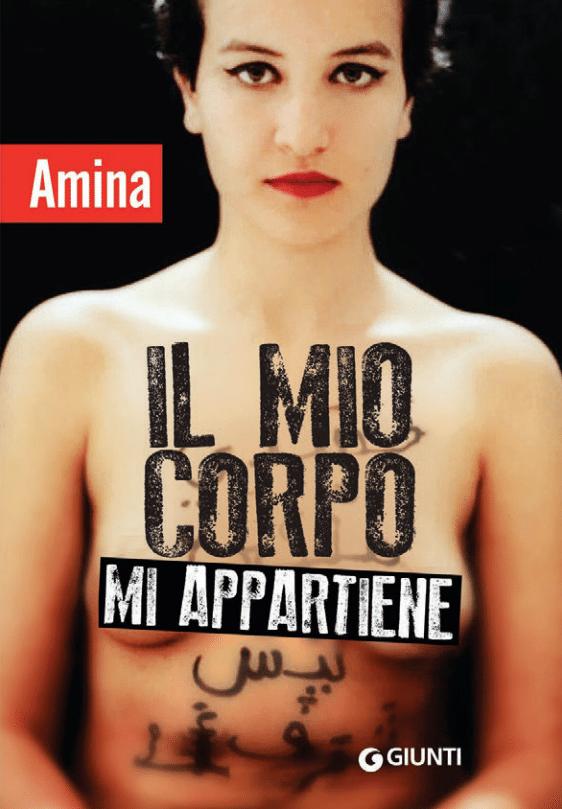 Amina copertina libro