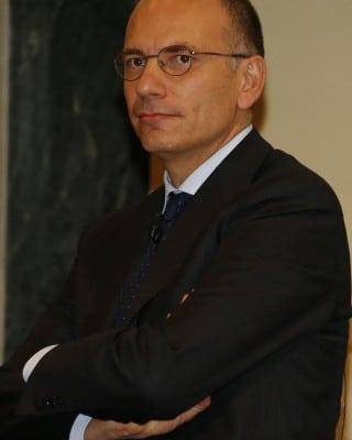 Italian Premier Enrico Letta during the 21th edition of 'Convegno di Pontignano' at Siena's university, 4 October 2013. ANSA/FABIO DI PIETRO