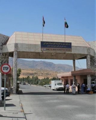 border iraq kurdistan